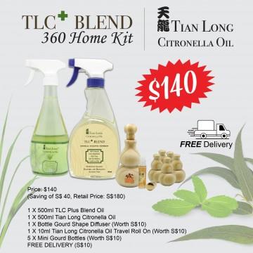 TLC Plus Blend Citronella Oil 360 Home Kit
