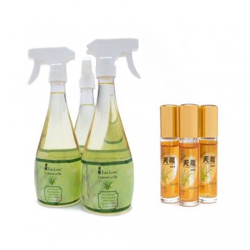 TL Citronella Oil Bundle with Travel Size Roll On
