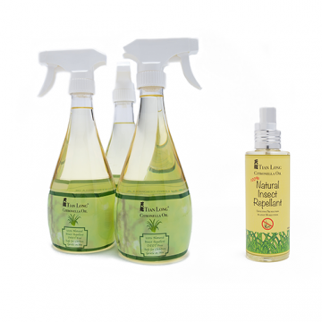 TL Citronella Oil Bundle with 120ml Travel Spray